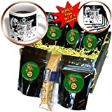 cgb_2382_1 Londons Times Funny Food Coffee other Digestibles - Starbucks Is Everywhere - Coffee Gift Baskets - Coffee Gift Basket
