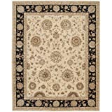 "Nourison Nourison 2000 (2207) Beige Rectangle Area Rug, 7-Feet 9-Inches by 9-Feet 9-Inches (7'9"" x 9'9"")"