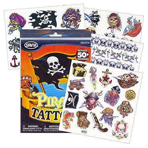 Savvi Pirate Tattoos - 50 Tattoos