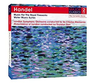 Music for Royal Fireworks / Water Music Suite