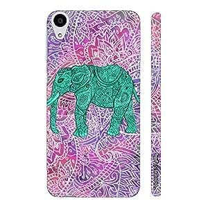 HTC Desire 626 Elephant Art 6 designer mobile hard shell case by Enthopia