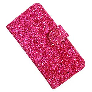 i-KitPit PU Leather Wallet Flip Case Cover For HTC Explorer A310 (Pink)