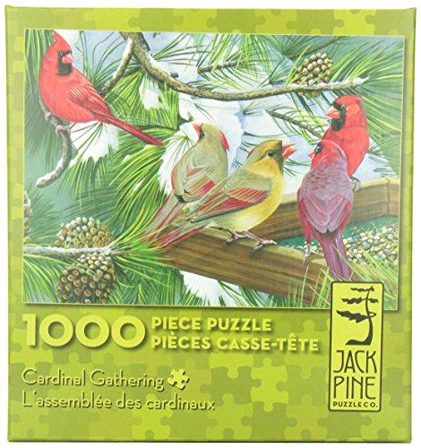 Cardinal Gathering (1,000 Piece Puzzle)