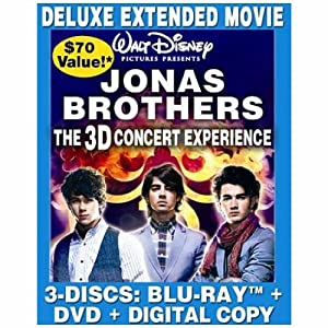 The Jonas Brothers: The Concert Experience – Deluxe Extended Movie–Review