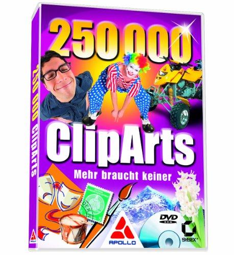 250000 CLIPARTS - MEHR BRAUCHT KEINER  (DVD-ROM) [IMPORT ALLEMAND]