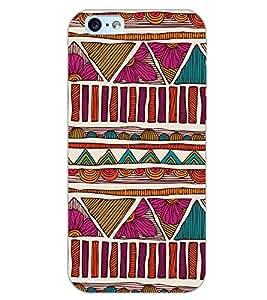 PrintDhaba MULTICOLOR DESIGN D-6822 Back Case Cover for APPLE IPHONE 6 PLUS (Multi-Coloured)