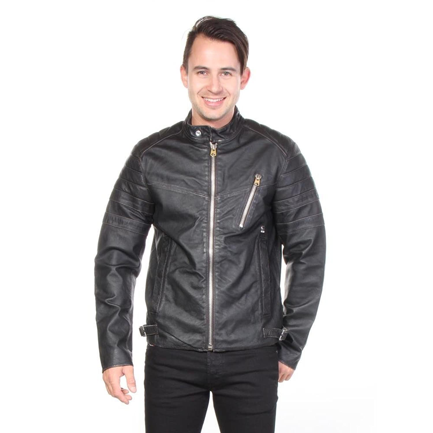 G-star Jacken Biker Leder Leather Herren online kaufen