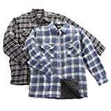 2 - Pk. Quilted Flannel Shirts