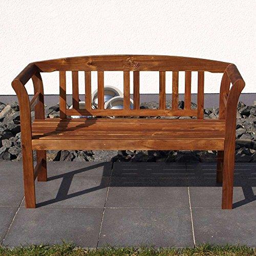 Gartenbank-aus-Akazie-Massivholz-Armlehnen-Breite-120-cm-Sitzpltze-2-Sitzpltze-Pharao24