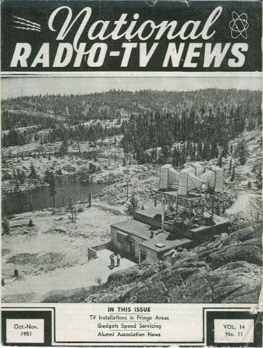 National Radio-Tv News: October-November 1951, Vol. 14, No. 11