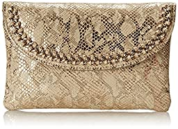 Nine West Off The Chain Clutch, Metallic/Gold, One Size