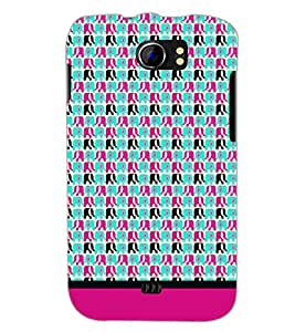 PrintDhaba Elephant Pattern D-1931 Back Case Cover for MICROMAX A110 CANVAS 2 (Multi-Coloured)