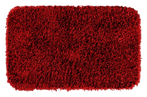 Garland Rug Jazz Shaggy Washable Nylon Rug, 24-Inch By 40-Inch, Chili Pepper Red front-780178