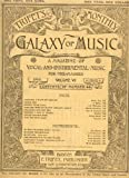 Antique Music Journal: TRIFET'S MONTHLY GALAXY OF MUSIC, A Magazine of Vocal and Instrumental Music for the Masses, Volume VI, April, 1892