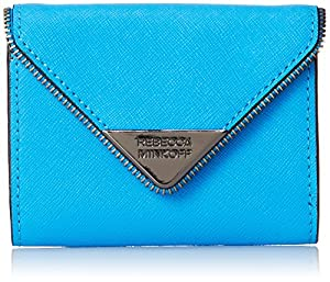 Rebecca Minkoff Molly Metro Keychain Wallet, True Turquoise, One Size