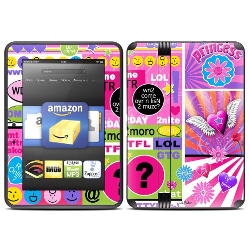 bff-girl-talk-design-protective-decal-skin-sticker-matte-satin-coating-for-amazon-kindle-fire-hd-7-i