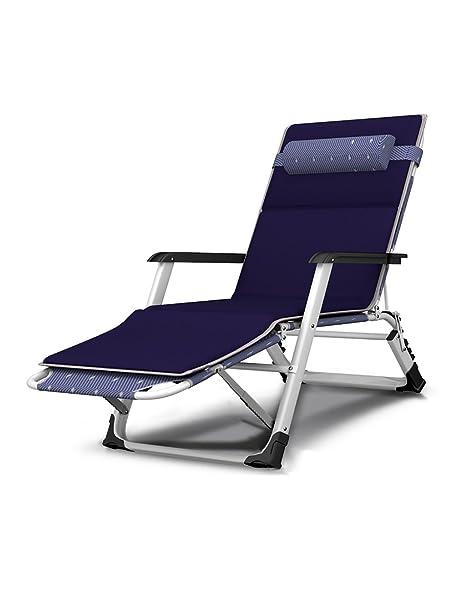 Sofá plegable de oficina plegable de oficina Ampliar Sillón reforzado de sillón (azul) ( Estilo : B )