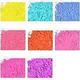 Neon Soap & Cosmetic Color Sample Set - 8 Powder Colors - Bright & Vibrant Colors for Soap Making - Powder Dye Pigment