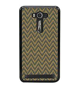 ifasho Designer Phone Back Case Cover Asus Zenfone Selfie ZD551KL ( Leather look Owl Art Tattoo look )