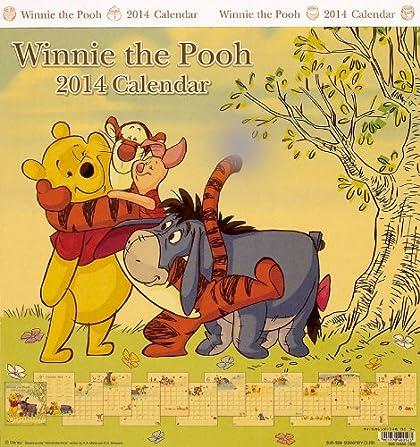 くまのプーさん 2014カレンダー