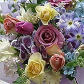 フラワー【 アレンジメント 記念日 誕生日 フラワーギフト 生花 新築祝い 開店祝い ブルー系 ha 】