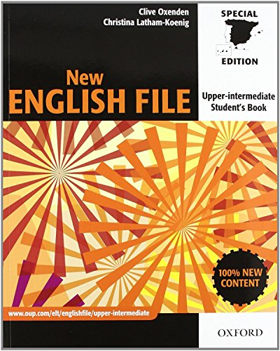 New English File Upper-Intermediate: Student's Book and Workbook Without Answer Key PAC (New English File Second Edition)