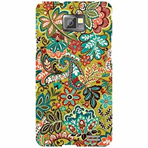 Back Cover For Samsung I9100 Galaxy S2 -(Printland)