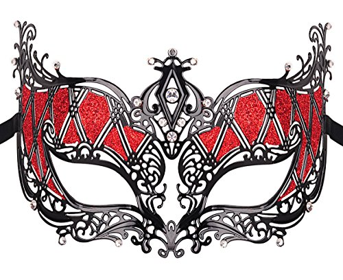Elegant Princess Luxury Metal Venetian Pretty Party Evening Prom Masquerade Mask