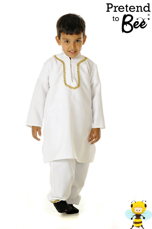 Childrens Indian Fancy Dress Costumes Children's Indian Boy Costume