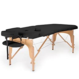 this portable massage table made by saloniture is also priced much lower than its competitors on the same capacity but it is not meant of a bad reputation