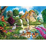The Old Watermill Jigsaw Puzzle (1000-Piece)