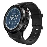 certainPL Zeblaze THOR4 PLUS Sports Watch - Waterproof Activity Tracker with Heart Rate Monitor, 4G Network, GPS, Google Play, Remote Camera, Outdoor Smartwatch for Android & iOS Phone (Color: Black)