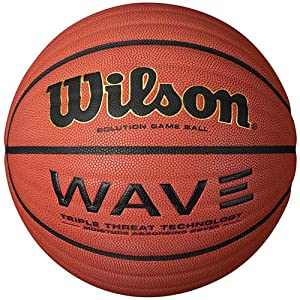 Ladies Indoor Game Basketball with Wave Design - Wilson NCAA by Wilson