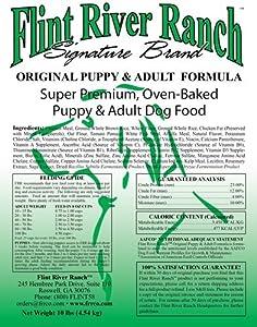 Flint River Ranch Nugget Dog Food for Large Dogs - 20lb Bag