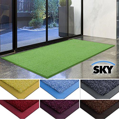 casa-purar-dirt-trapper-barrier-mat-with-matching-rubber-edge-green-85-x-150cm-non-slip-absorbent