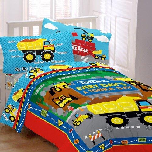 Boys Construction Bedding