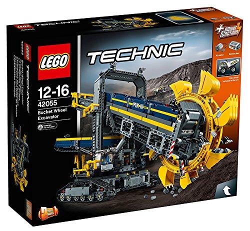 レゴ テクニック バケット掘削機 42055