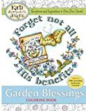 img - for Garden Blessings: Scriptures and Inspirations to Color Your World book / textbook / text book