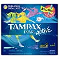Tampax Triple Pack Unscented Plastic Applicator Tampons, 36 Count- Packaging May Vary