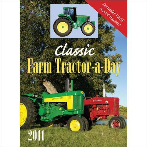 Classic Farm Tractor-A-Day with Toy 2011 Boxed Calendar