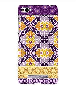 ColourCraft Tribal Pattern Design Back Case Cover for XIAOMI MI 4I