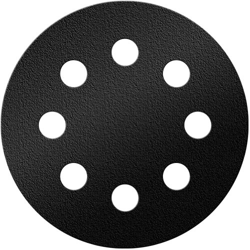 A&H Abrasives 148496, Sanding Discs, Ceramic, Black Max, (j-weight), 5