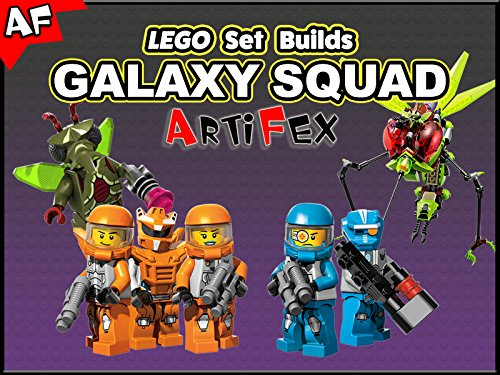 Clip: Lego Set Builds Galaxy Squad - Season 1