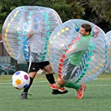 HolleywebTM Bubble Soccer Ball Colourful Dia 5' (1.5m) Human Inflatable Bumper Bubble Balls
