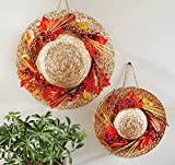 Set of 2 Fall Country Harvest Thanksgiving Wall Decoration