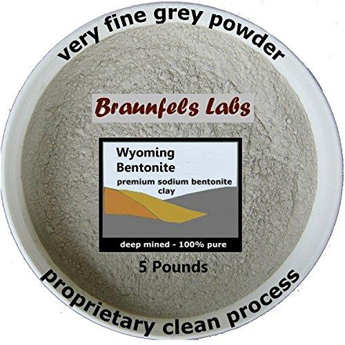 5 Pounds - 100% Pure Bentonite Clay (Food Grade Clay compare prices)
