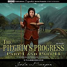 The Pilgrim's Progress Audiobook by John Bunyan Narrated by Philippe Duquenoy