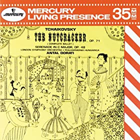 Tchaikovsky: The Nutcracker; Serenade for Strings (2 CDs)