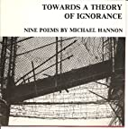 Towards a Theory of Ignorance by Michael…
