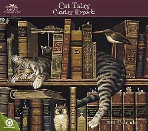 Charles Wysocki Cat Tales Wall Calendar 2011
